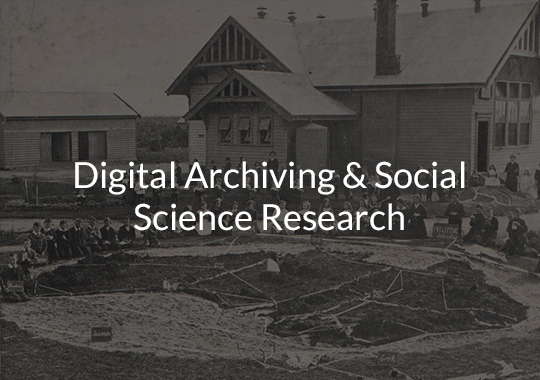 Digital Archiving & Social Science Research