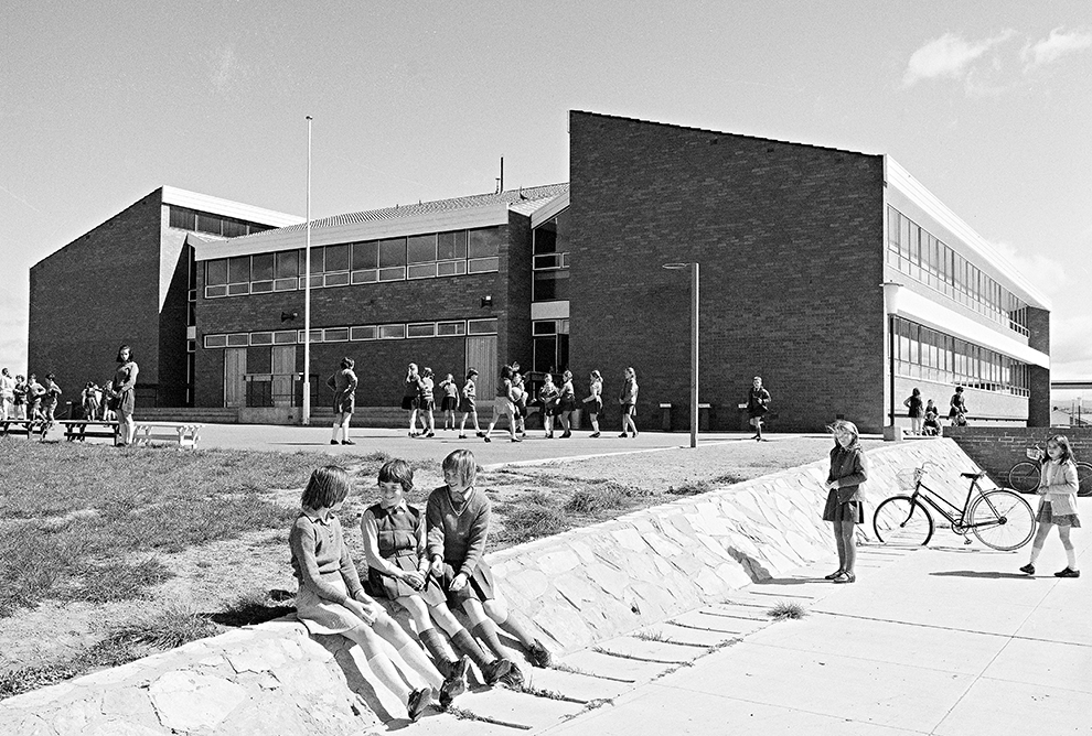 Mawson Primary School, Mawson, ACT, 1970. Photographer unknown. National Archives of Australia, A1200, L83727