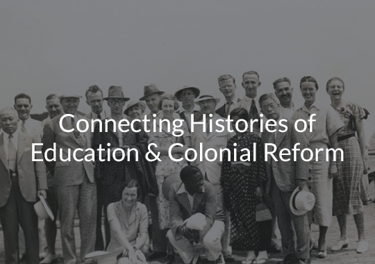 Connected Histories: Settler Colonial Modernity & Educational Reform in Twentieth-Century Australia